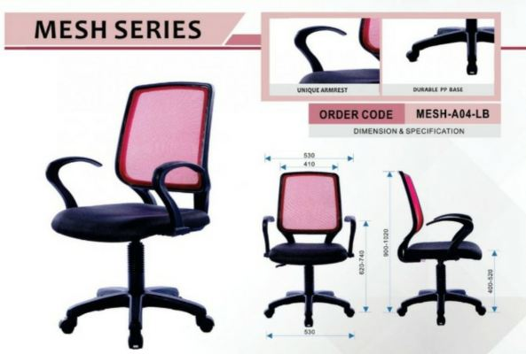 TUDM BUTTERWORTH OFFICE CHAIR LEARNING CHAIR WHITE BOARD STUDENT CHAIR PERABOT ASRAMA TRAINNING CHAIR