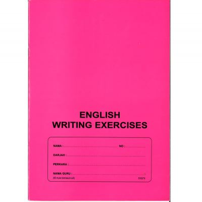 English Writing Exercise Book 60 Pages Ӣ�����IJ� (SJKC Tiram)