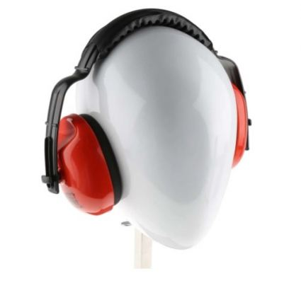 184-5934 - RS PRO Ear Defender with Headband, 28dB, Red