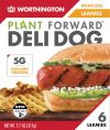 Worthington Meatless Leannies - Deli Dog 217gm ( 6pcs / pkt ) Meatless with Egg white content Vegetarian Meat Vegan