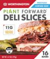 Worthington Meatless Corned Beef Deli Slices 195gm ( 16pcs / pkt ) Meatless with Egg white content Vegetarian Meat Vegan