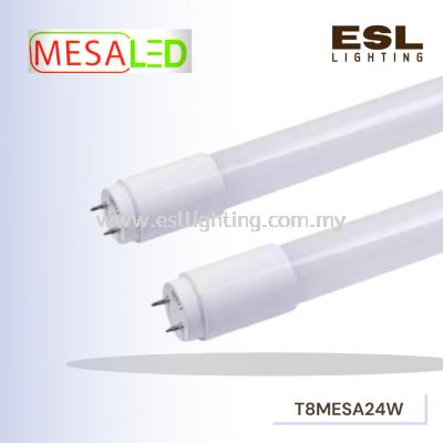 MESALED 24W LED T8 TUBE 4FT 2400 LUMEN DAYLIGHT