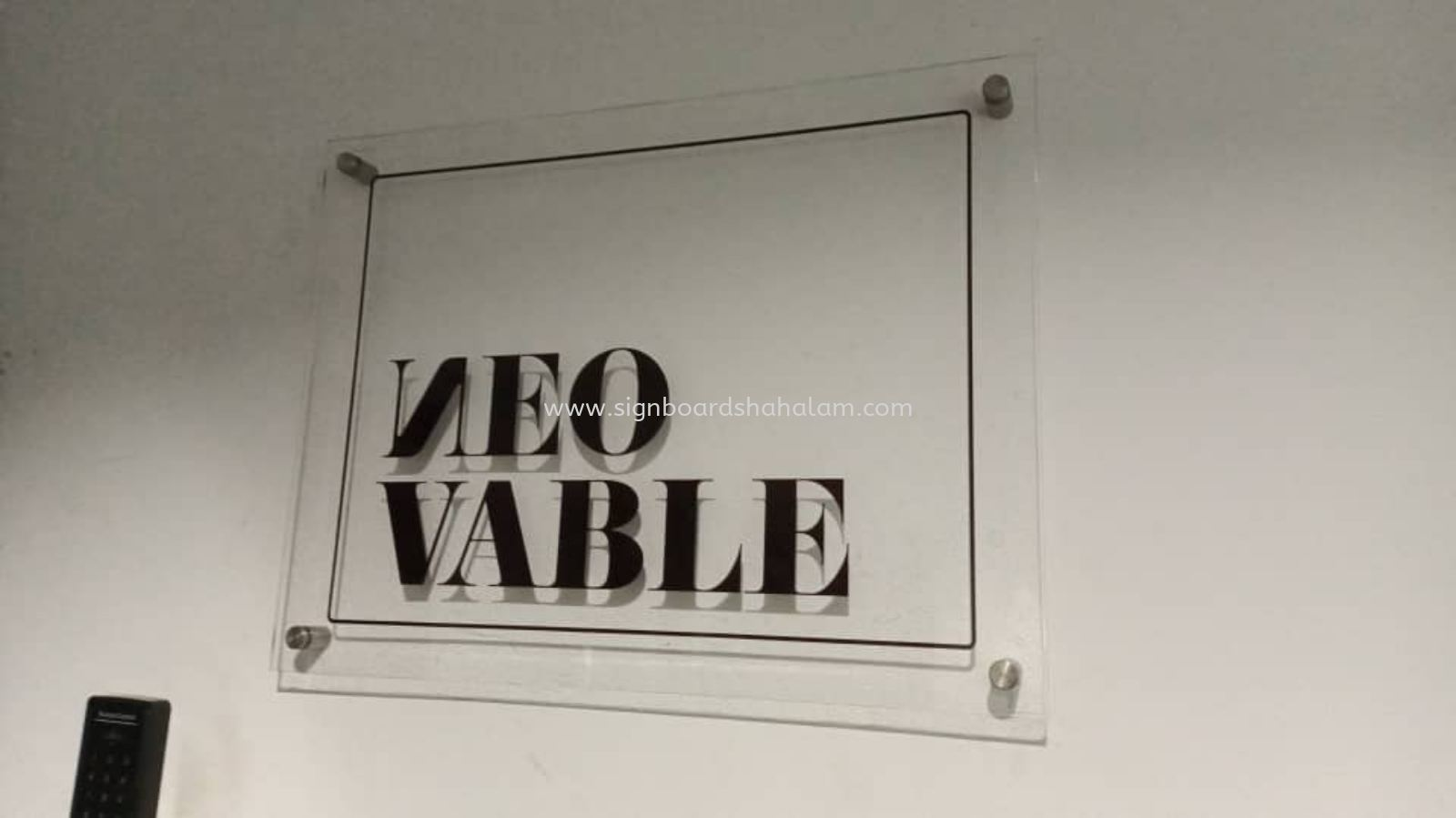 Neovable Sdn Bhd KL - Acrylic Poster Frame