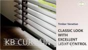 Timber Venetian Blind Indoor BLINDS & SHADES