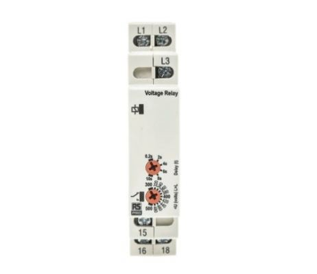 102-6136 - RS PRO Phase, Voltage Monitoring Relay With SPDT Contacts, 3 Phase, Undervoltage