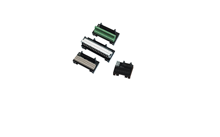 OMRON XW2R (General-purpose devices)  Many Variations in Connectors and Number of Poles