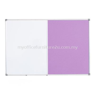 DUT15 Aluminium Frame Dual Soft Board (600W x 450H mm)