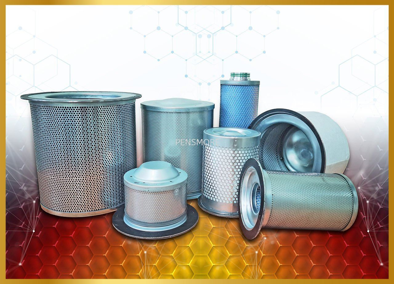 Compatible Oil Separator Oil Filter Air Filter Suction Filter