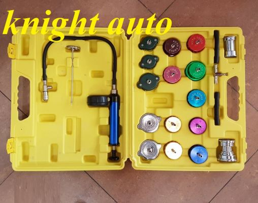 21pcs Cooling System and Radiator Cap Pressure Tester ID32949
