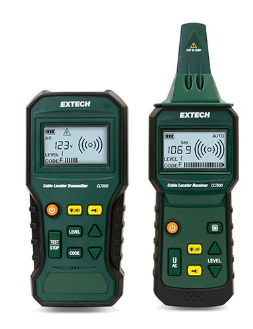 Extech CLT600 Advanced Cable Locator and Tracer Kit