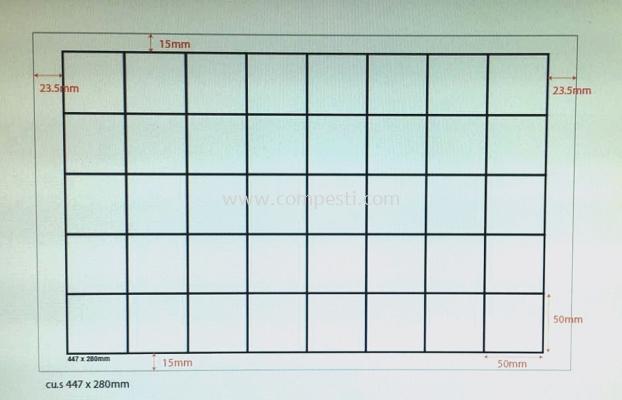 Fly Glue Board White 011 - 280mm x 447mm