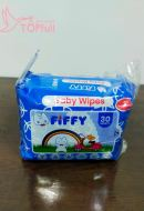 Fiffy Baby Wipes Tissues 30pcs*2pack travel bag