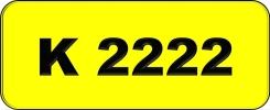 K2222 Rare Classic Plate