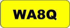 Number Plate WA8Q Wilayah Golden Plate