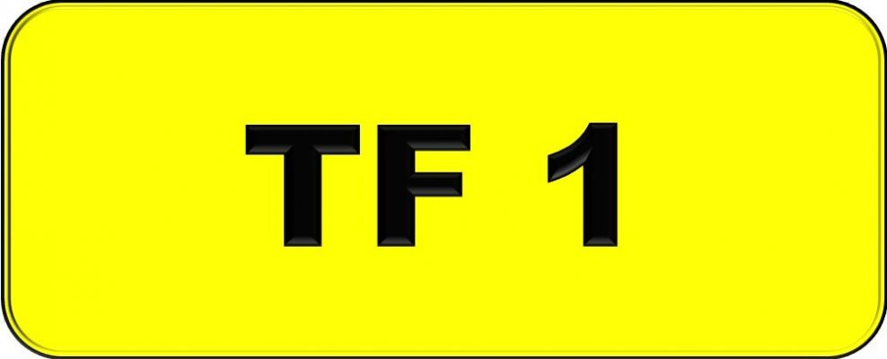 Number Plate TF1