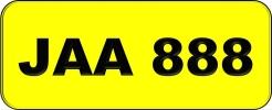 JAA888 VVIP Plate
