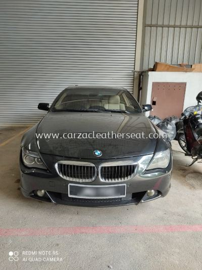 BMW 630I SEAT REPLACE SYNTHETIC LEATHER
