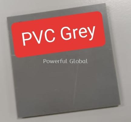 PVC Plastic Sheet Grey