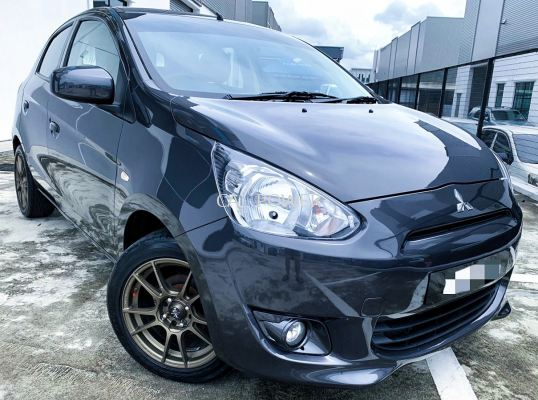 2012 Mitsubishi MIRAGE 1.2 GS(A)PUSH START FUL
