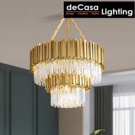 DOUBLE LAYER CRYSTAL CHANDELIER 750MM/400MM