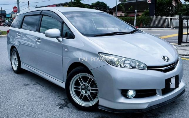 2011 Toyota WISH 1.8 S (A) 7 SEATER FACELIFT FULL