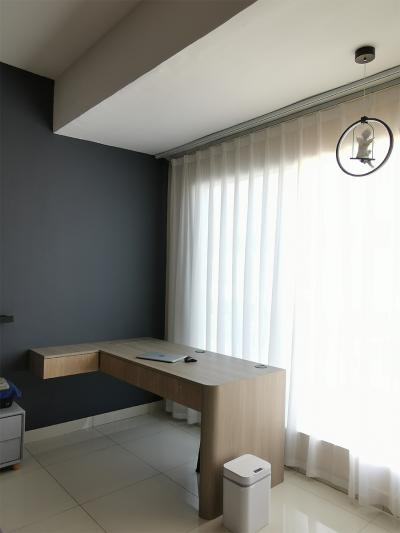 Study Room Area Modern Interior Design Customized Furniture Renovation