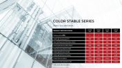 Color Stable Series Commercial