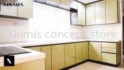 PYRAMID SAND 4G GLASS DOOR Aluminium kitchen cabinet