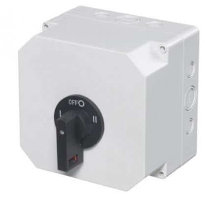136-5288 - RS PRO 2 Pole Panel Mount Switch Disconnector - 63 A Maximum Current, IP65