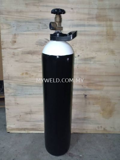 MEDICAL OXYGEN 10L CYLINDER TANK (FULL WITH GAS)