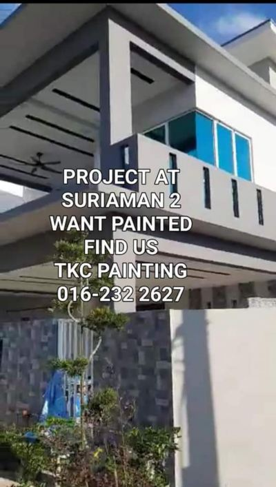 PROJECT PAINTINGAT�� Suriaman 2��Bandar Sri Sendayan�� Seremban�� The painting work is in progress.Paint the work. ��WANT PAINTED .FIND FOR US.! Ҫ����.������! TKC PAINTING #seremban��Negeri Sembilan# ӵ��21������ᾭ�飬�������ģ� �۸��� #�а���нӸ���С���Ṥ����������� Painting works in progress #Want Painted.find for us. Ҫ���ᣬ������! TKC PAINTING#Seremban  #Negeri Sembilan      #ҵ����С����      #����#˫�����      # ����#Banglo      #�����ʽ#����ʽ#��ˮ��#TNB#��ͤ#�Ƶ�#��#����#ѧУ  #ס�ҡ�  #���ݵȸ���Сҵ '����'���� ��Repainting work of all kind #building #ShopLot & #housing . #TNB SUB-STATION#BUS STOP SUB STATION#pump house#Fencing#Control/Blower Room����   #Painting Services- &#Painting Projects #package labor and materials�� #Shophouse #home #temple #factory#Tangki#and #school���� https://m.facebook.com/tkcpaintingN.S/?ref=bookmarks   https://www.tkcpainting.com.my https://www.facebook.com/pg/tkcpaintingN.S/about/ https://www.tkcpainting.com.my/          Ms Tan 016-232 2627 https://wa me/60162322627