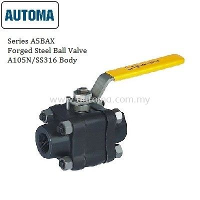 Forged Steel Ball Valve A105N/SS316 Body