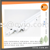 """KDK PANASONIC Original Ceiling Fan Rod 8"""" 8 Inch for Replace Shorter or Extend use FR8 Ceiling Fan HOME APPLIANCE"""