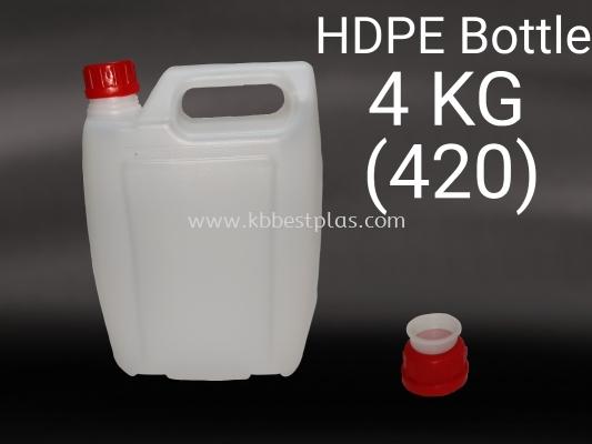 HDPE Bottle 4KG