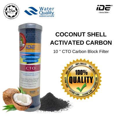 "10"" 100% Coconut Shell Carbon Block CTO Filter"