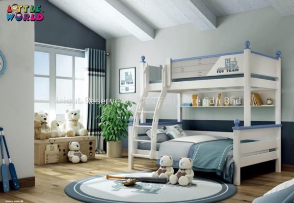 Little Toy Train Bunk Bed