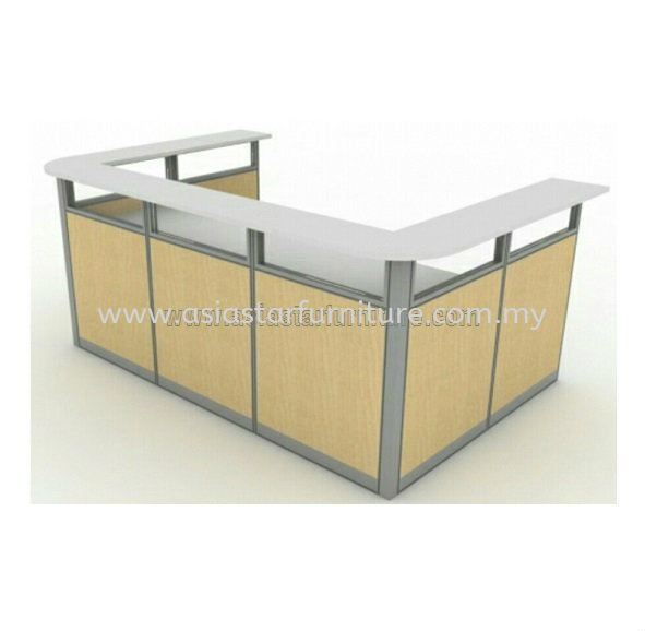 SUPERIOR RECEPTION COUNTER OFFICE TABLE - Reception Counter Office Table Uptown PJ | Reception Counter Office Table Pusat Bandar Damansara | Reception Counter Office Table Damansara Height | Reception Counter Office Table Bandar Utama