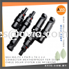 MC4 60A PV 1 Pair 1 to 2 1to2 1-2 Connector Weatherproof Male Female for Solar Cable Solar System use MC1MF2MF CABLE / POWER/ ACCESSORIES