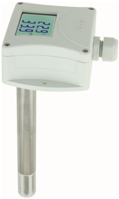 COMET T3113D Temperature and humidity duct probe with 4-20mA output
