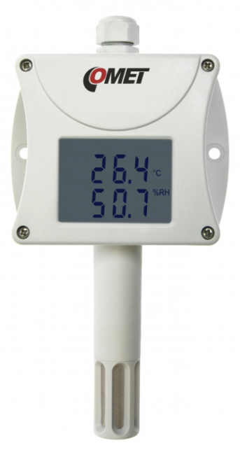COMET T3311 Temperature and humidity probe with RS232 output, internal sensors
