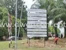 Constrcution project signboard Construction Board