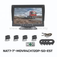 7inch MDVR2CH720P WITH RECORDER(AHD)