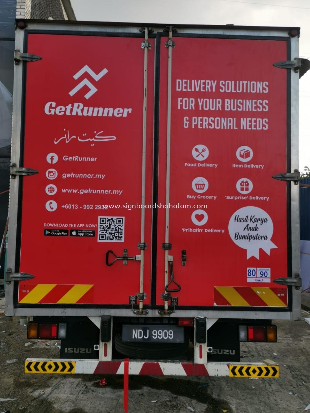 Goodwill  Everst Sdn Bhd klang - Truck Lorry Sticker