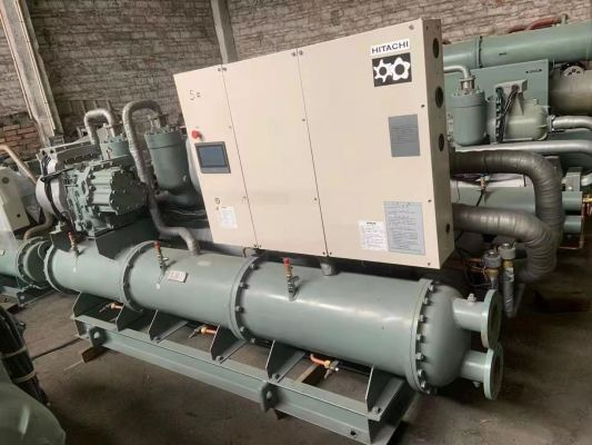 Hitachi Water-Cooled Chiller RCU180WHZ-AE Used Unit