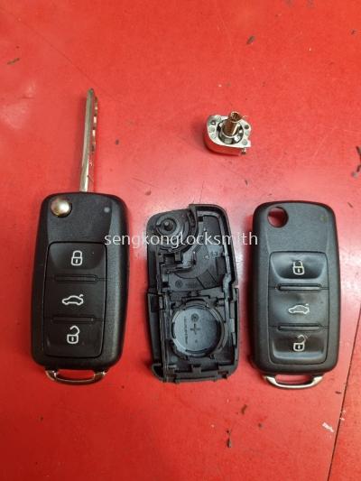 volkswagen car control casing