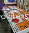 neutral gas industry Lable safety  Road sign /factory sign /safety signage/plantation signage