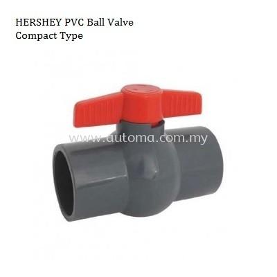 HERSHEY Compact Ball Valve (BSPT~Socket)