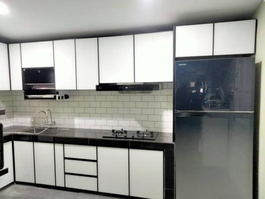 Selangor aluminium kitchen cabinets