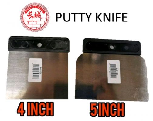 """4"""" / 5"""" ANZA STAINLESS STEEL PUTTY KNIFE / ADHESIVE SPREADER / FILLING KNIFE ( 4 INCH / 5 INCH )"""