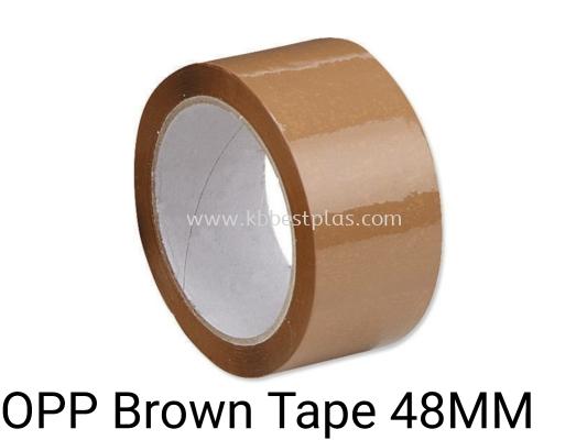OPP Brown Tape 48MMx90YDS